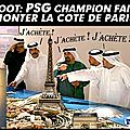 Football : psg, le nouveau champion, vitrine de paris !