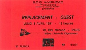1991_04_The_Replacements_Espace_Ornano_Billet