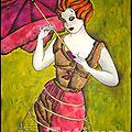 L'Ombrelle de Miss Vicky Butterfly