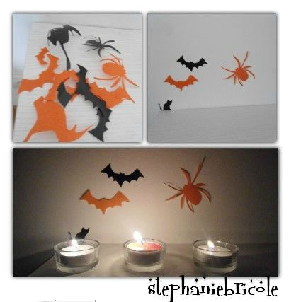 tuto diy id es de d co faire soi m me pour halloween stickers lampes st phanie. Black Bedroom Furniture Sets. Home Design Ideas