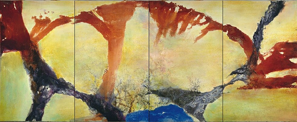 "Asia Society Museum in New York presents ""No Limits: Zao Wou-Ki"""