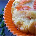 **Petits Flans De Surimi Au Boursin**