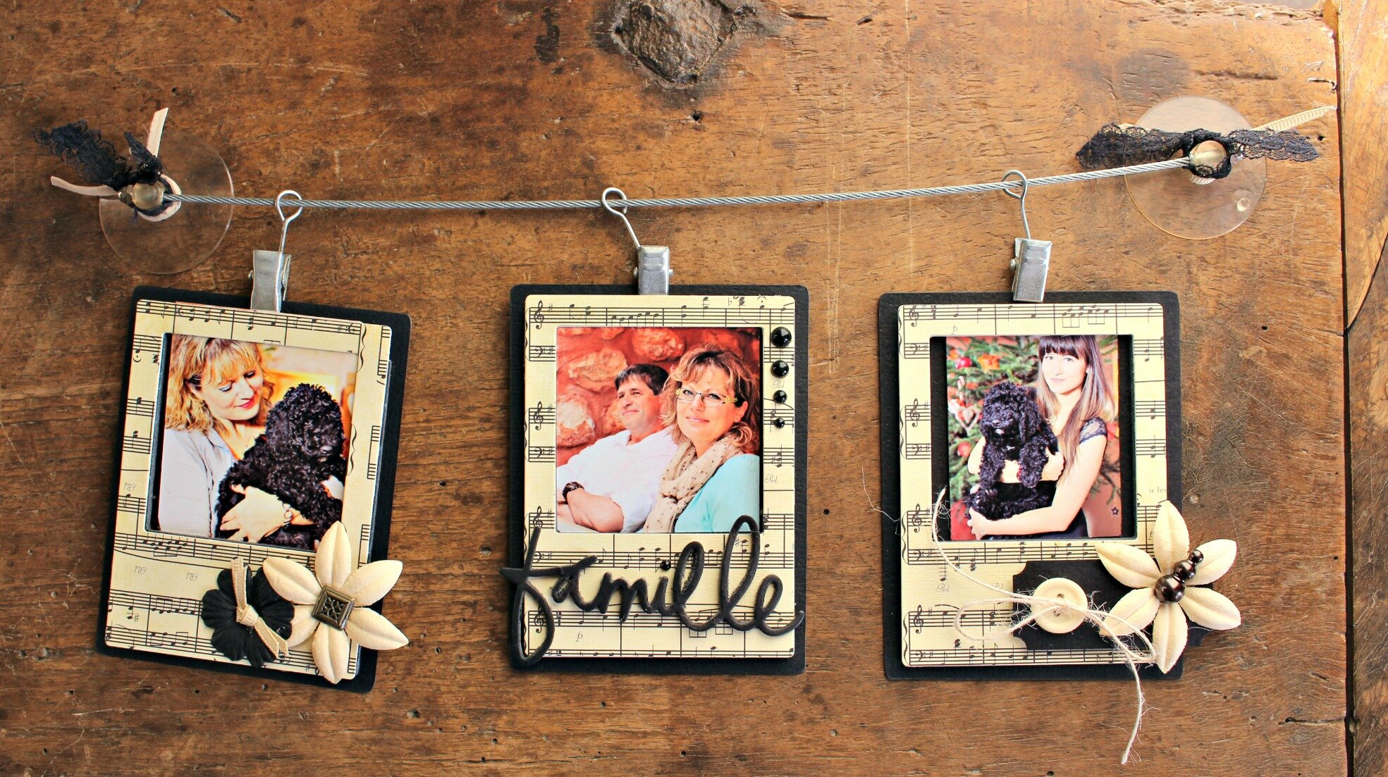 Cadeau Scrap *Trio de polas* par Is@ de Belley