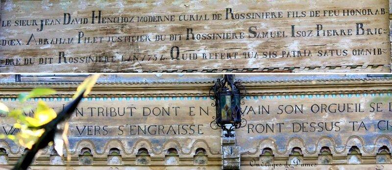 Ecritures Grande Maison
