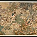 A Large Court Painting by Leng Mei (FL. 1700-1742), 'Children at Play'. Qing Dynasty, Yongzheng Period
