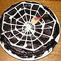 Gâteau araignée...