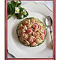 Mon dessert pour le concours garofalo et un dejeuner de soleil