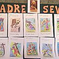 La vía crucis en el Portal pintada por los niños