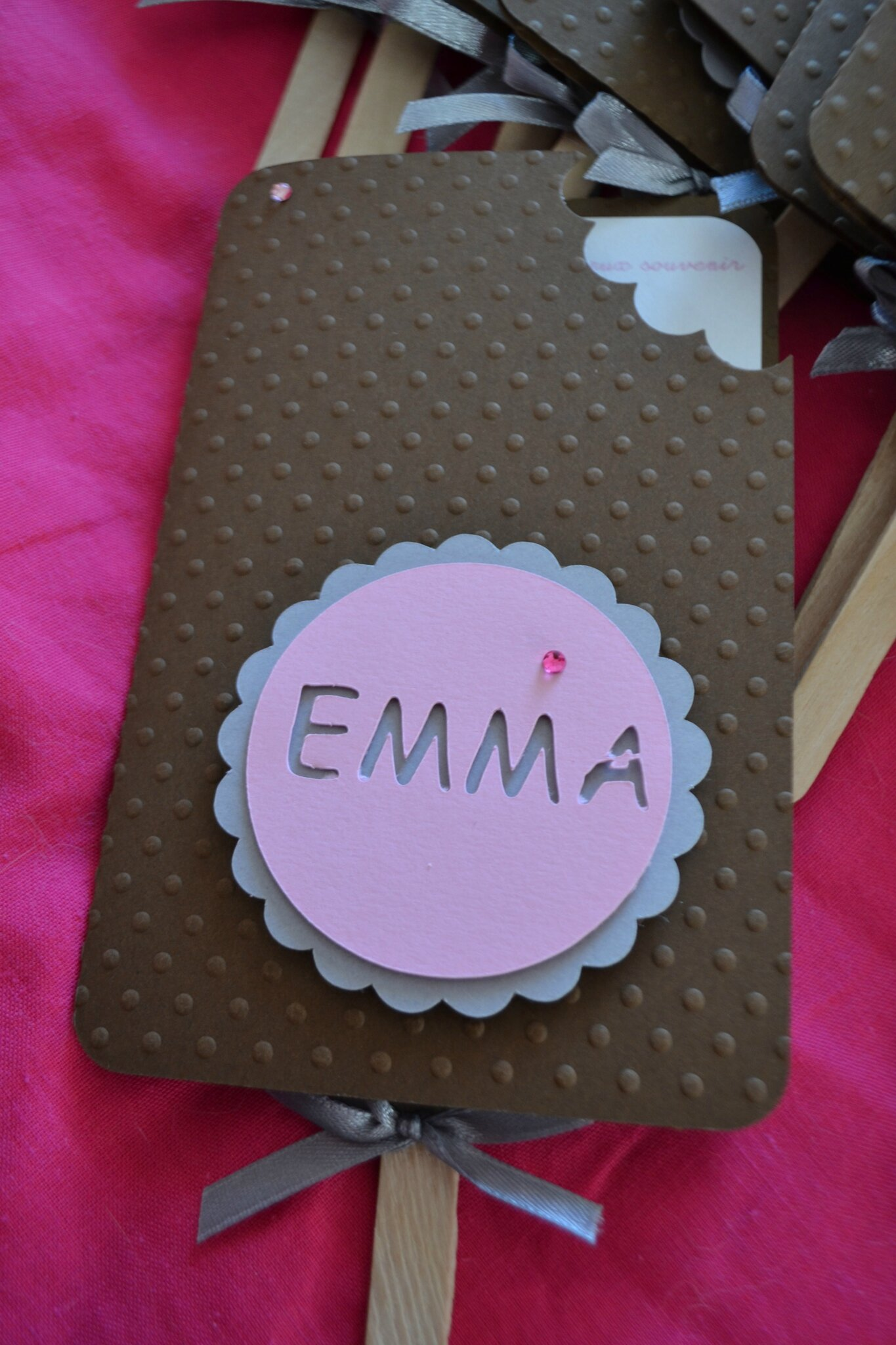 faire part bapt me et anniversaire emma th me chocolat et gourmandise orely scrap. Black Bedroom Furniture Sets. Home Design Ideas
