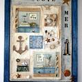 tableau de bord de mer