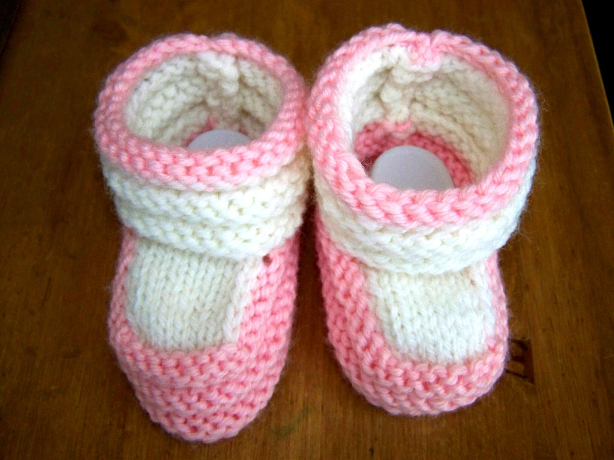 7   Comment tricoter des chaussons de naissance en vidéo . 4af5d0b5e79