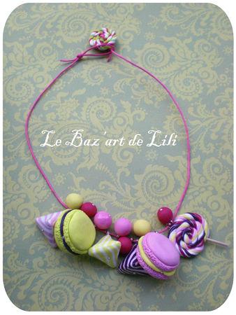 Collier_bonbons_rose_vert_violet