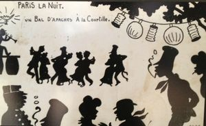 13 Paris la nuit, chroniques nocturnes - Pavillon de l'Arenal, Paris, Paris la nuit, un bal d'apaches à la courtilles, Norwins