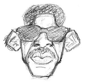 caricature Will Smith rough