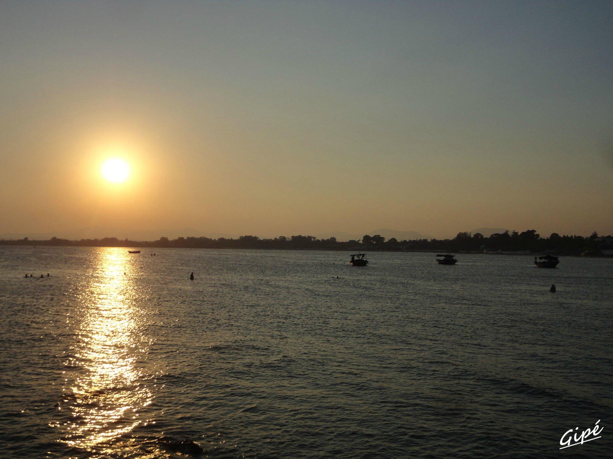 Coucher de soleil du mercredi 24 juillet 2013