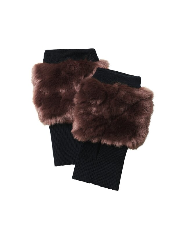 FW15_FILIPPAK_GLOVE_FAUXFUR_RED_95EUR