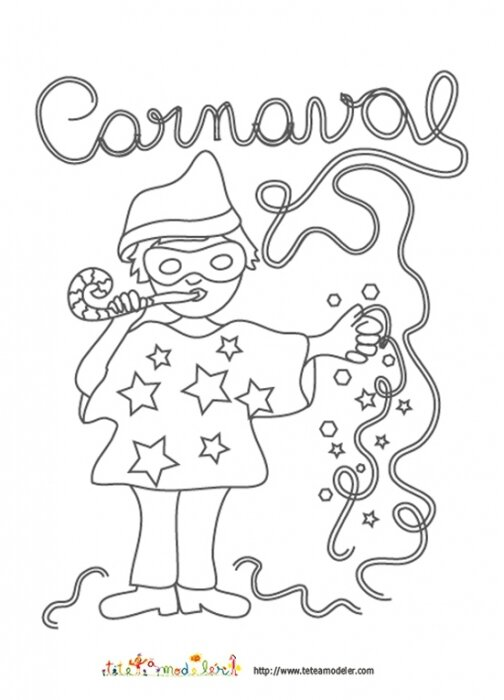 Coloriage carnaval blog de ma nounou christine cruas - Dessins carnaval ...