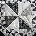 patchwork noir&blanc
