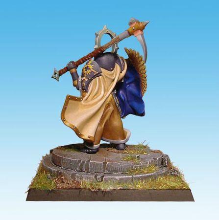 Sered,commandeur Templier peint par Arkaal 02
