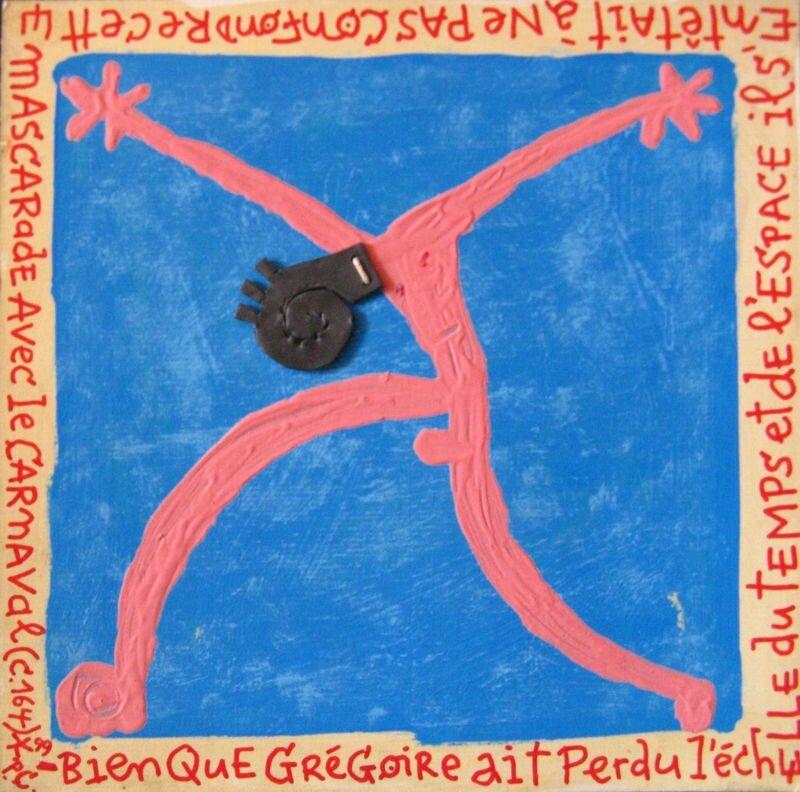 PAELLA CHIMICOS Grégoire tête de plomb 1999 20 x 20