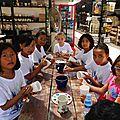 Fête des mères ce1/ce2/cm1 à khmer ceramics