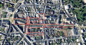 Avranches plan des travaux quartier Saint Gaudens 2013 2014
