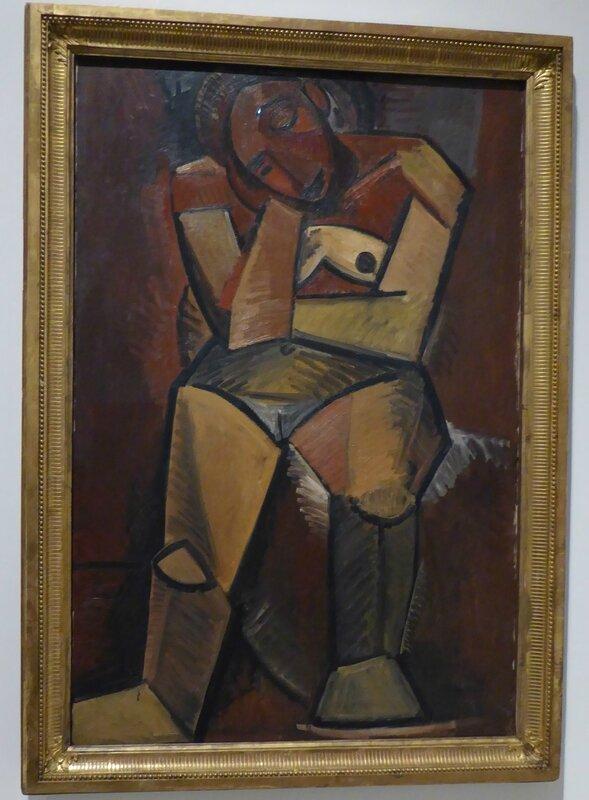 Picasso Femme nue assise Méditation