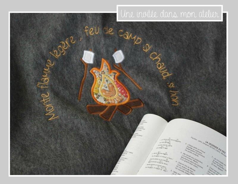 équipement guide-couverture pour veillée-monte flamme légère-Liberty mauvey mangue