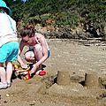 Challenge 2 ♥ construire des châteaux de sable