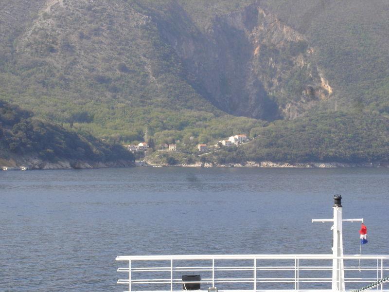 De l'île de Krk à l'île de Crès en ferry