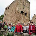 Masevaux-niederbruck: la société d'histoire aux trois châteaux d'eguisheim