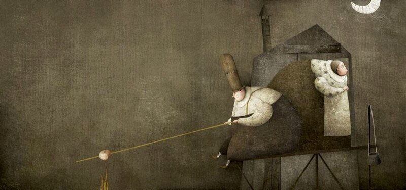 Gabriel Pacheco 1973 - Mexican Surrealist Visionary painter - Tutt'Art@ (34)