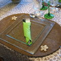 Table verte - Maison