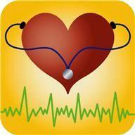 coeur avec un stétoscope