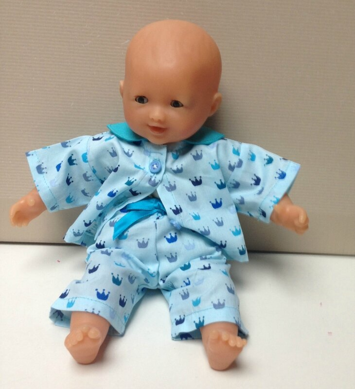 pyjama bleu