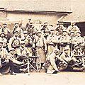 Une section de mitrailleuses en juin 1915