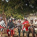 Les troupes du Roi de France, prêtes au combat