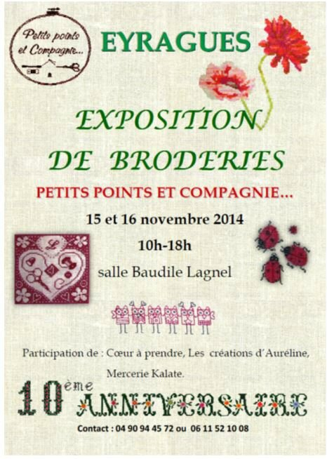 expo à Eyragues