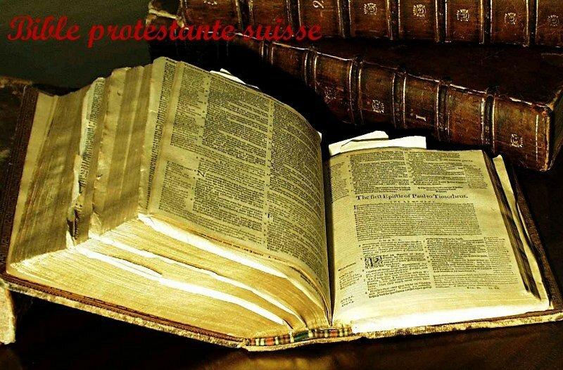 bible suisse