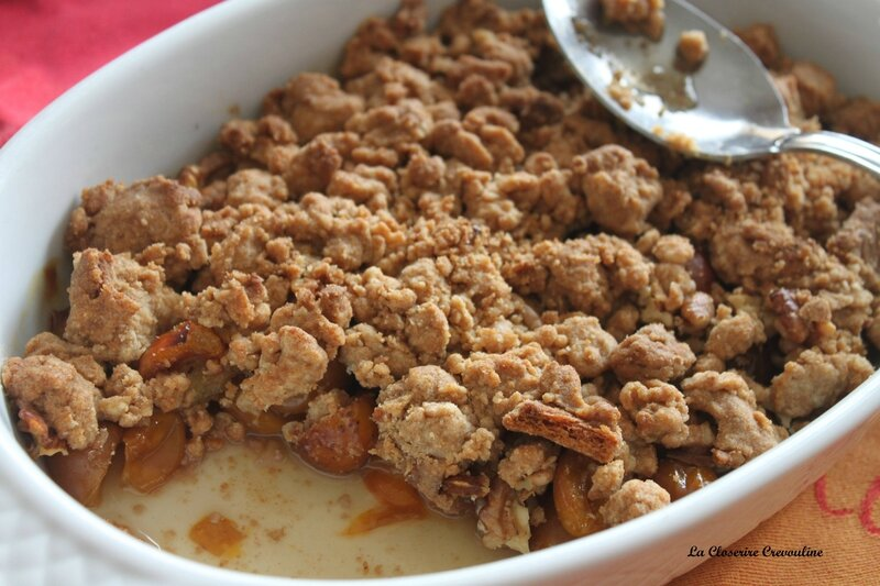 crumble mirabelle