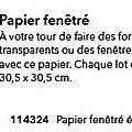 p087 papier fenétré épais