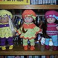 Petites tenues pour deux petites filles