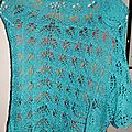 Un duo turquoise en lace de dropsdesign