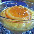 Crème aux amandes et a l'orange façon mistralette