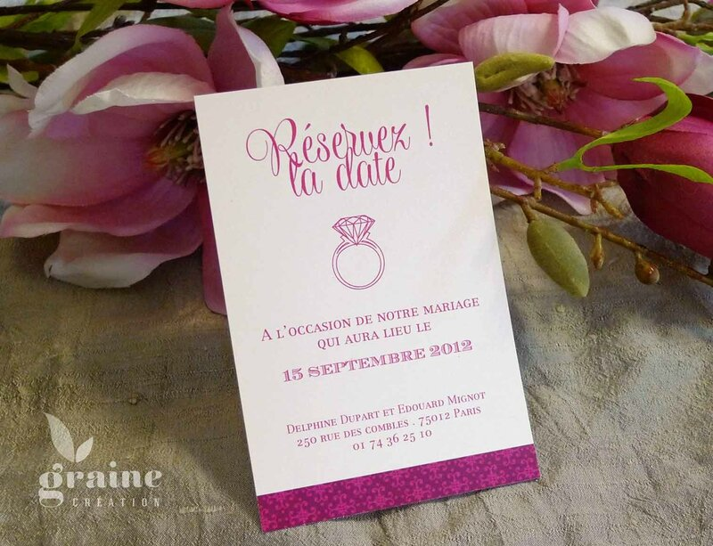faire-part-fleur magnolia save the date