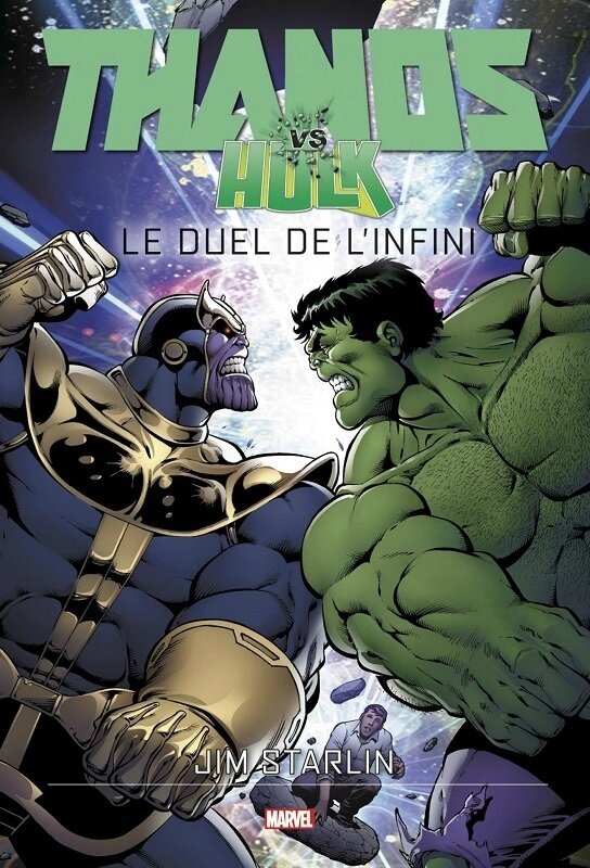 graphic novel thanos vs hulk le duel de l'infini