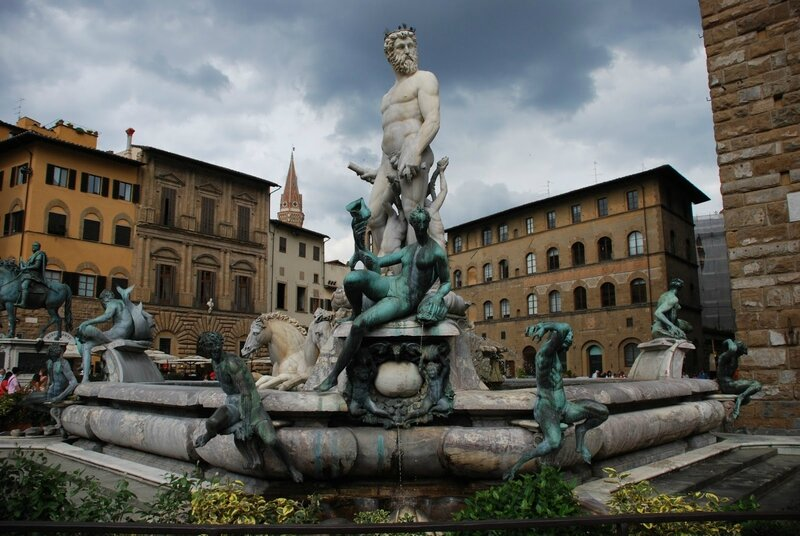 Florence-Statue-Italy