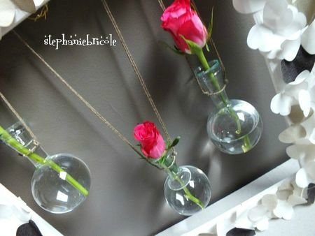tuto dco, ide dco rcup, soliflore dans un cadre, diy wall decor