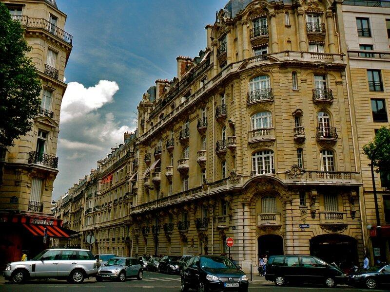 boulevard de courcelles c t 17 me arrondissement photo de paris 17 me arrondissement. Black Bedroom Furniture Sets. Home Design Ideas