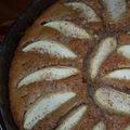 Gâteau à la purée de sésame (tahin)
